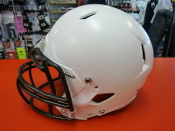 Used Riddell Attack I Youth Football Helmet - White
