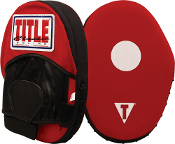 TITLE Classic Canvas Punch Mitts