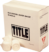 TITLE Boxing Old School Super Gauze Single Weave