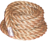 1 1/2 Inch  X 15 FT Manila Fitness Training Ropes