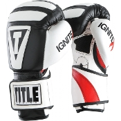 TITLE INFUSED FOAM IGNITE I-TECH TRAINING GLOVES - Black