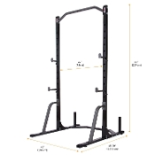 New 1/2 Rack Weight Rack