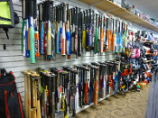 Used Baseball/Softball Bats - Over 250 Available
