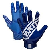 Double Threat Football Receiver Gloves - Youth Navy