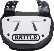 Battle Football Back Plate - Youth