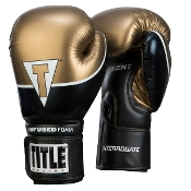 Title Interrogate Boxing Gloves - Gold
