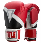 Title Classic Revive Boxing Gloves - Red
